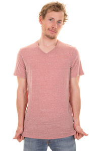 Element Basic V T-Shirt (red heather)
