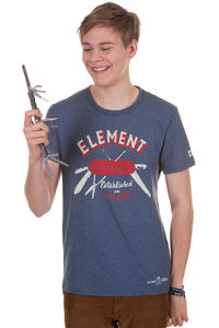 Element Knife T-Shirt (marine)