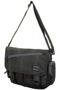 Billabong Warehouse Satchel Bag (black plaid)