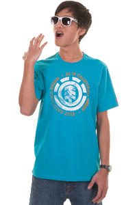 Element Keep Ca Green T-Shirt (neo blue)