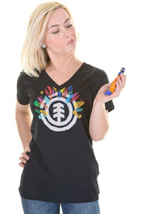 Element Painted T-Shirt girls (black)