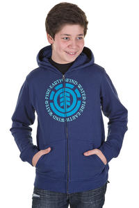 Element Elemental Zip-Hoodie kids (marine)