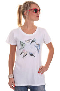 Element Feathered Friends T-Shirt girls (white)