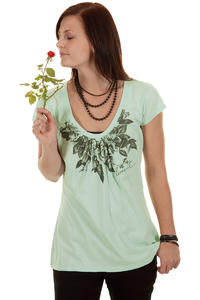 Element Wreath T-Shirt girls (light mint)