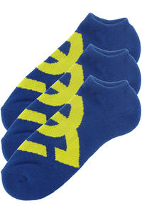 DC Suspension 2 Socks 3er Pack US 10-13  (royal blue)