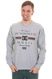 DC RD Lux Stripe Sweatshirt (heather grey)