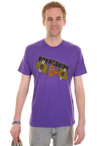 Toy Machine Chop T-Shirt (purple)