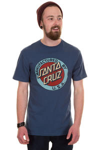 Santa Cruz MF Dot Vintage T-Shirt (dark denim)