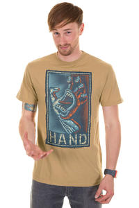 Santa Cruz Handstitched T-Shirt (tan)