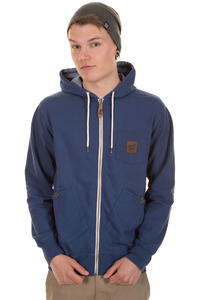 Santa Cruz Shipstern Zip-Hoodie (dark denim)