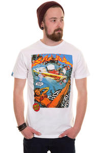 Santa Cruz Hello Steve T-Shirt (white)