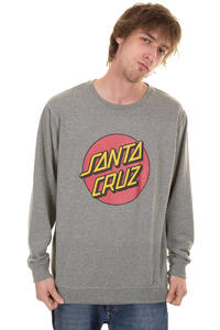 Santa Cruz Vintage Dot Sweatshirt (dark heather)