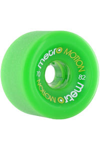 Metro Wheels Motion 70mm 82A Wheel 4er Pack  (green)