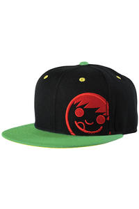 Neff Corpo Snapback Cap (rasta)