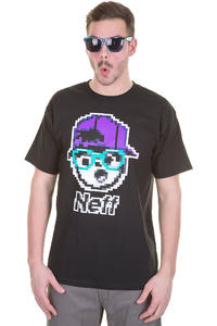 Neff 8Bit-Kenni T-Shirt (black)