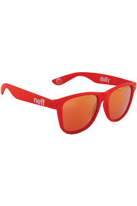 Neff Daily Sonnenbrille (red soft touch)