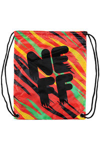 Neff Cinch Bag (rasta tiger)