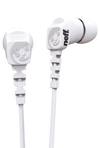 Neff Daily Ear Buds Kopfhrer (white)