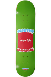"Chocolate Eldridge Pretty Sweet 8"" Deck (green)"
