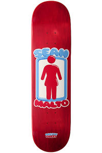 Girl Malto Pretty Sweet 8.125&quot; Deck (red)