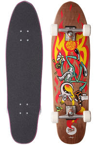 MOB Skateboards Chimp 8.75&quot; x 33&quot; Cruiser (brown)