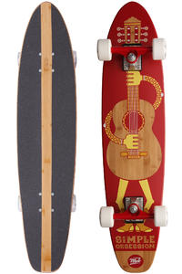 MOB Skateboards Tom 8&quot; x 35.5&quot; Cruiser (red)
