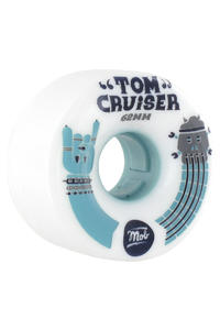 MOB Skateboards Tom 62mm Rollen 4er Pack  (white)