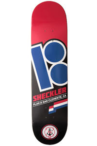 Plan B Sheckler Flags 8&quot; Deck (red)