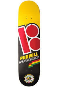 Plan B Pudwill Flags 8&quot; Deck (yellow)
