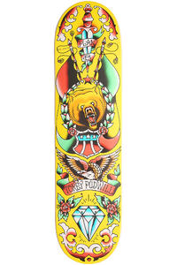 Plan B Pudwill Color Flash 8&quot; Deck (yellow)