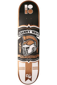 "Plan B Way Crest Pro Spec 8.125"" Deck (black brown)"