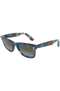 Ray-Ban Original Wayfarer Blocks Sunglasses 50mm  (blocks dance avana-grey)