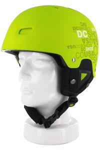 DC Unleashed Snow-Helmet (lime)