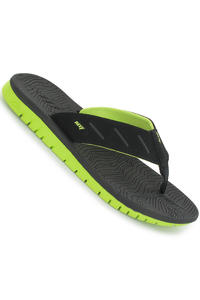 Reef Rodeo Sandale (black lime green)
