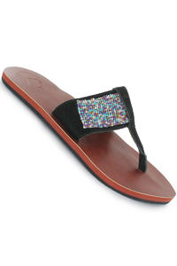 Reef Beaded Slaps girls (black multi)