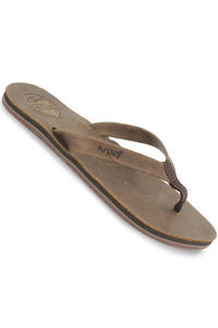 Reef Skinny Leather Slaps girls (brown)