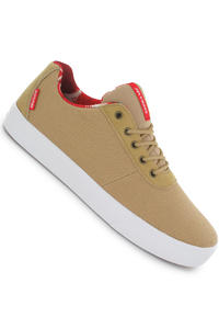 Supra Strike Canvas Shoe (tan/red-white)