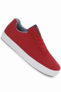 Supra Strike Canvas Shoe (red-white)