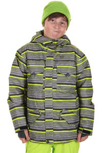 DC Servo Snowboard Jacke kids (grey stripe)