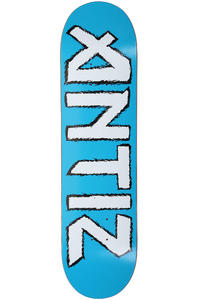 Antiz Skateboards Iron 8&quot; Deck (blue white)