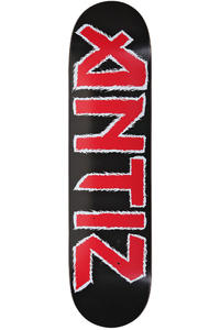 Antiz Skateboards Iron 7.875&quot; Deck (black red)