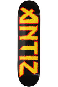 Antiz Skateboards Iron 8.25&quot; Deck (black yellow)