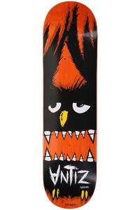 Antiz Skateboards Logo Owl Stoned 8.125&quot; Deck (orange)