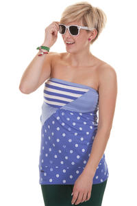 Ragwear Shortie Top girls (baja blue)