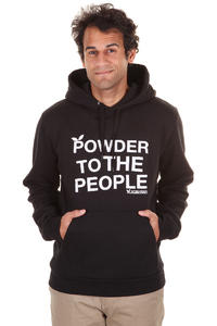 Playboard Powder To The People Hoodie (black)