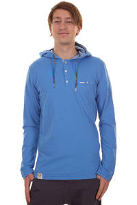 Ragwear Fall SP13 Longsleeve mit Kapuze  (blue melange)
