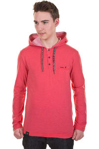 Ragwear Fall SP13 Longsleeve mit Kapuze  (red melange)