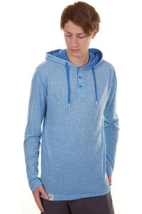 Ragwear Fallin Longsleeve mit Kapuze  (blue melange)