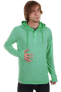 Ragwear Fallin Longsleeve mit Kapuze  (mint melange)