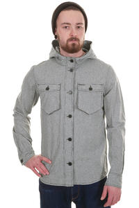 Ragwear Nuke Two Shirt mit Kapuze  (black chambray)
